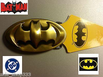 Sweet! Batman  Logo belt buckle (full metal Bronze color) DC,collectible cosplay