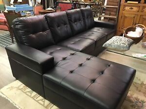 Brand New Faux Leather Sectional