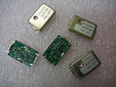 Raltron Rtx0230lc 20.000mhz Tcxo Oscillator New Qty.5