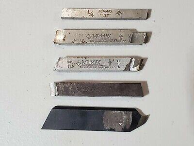 Cleveland Twist Drill Lathe Tool Cutting Bits Vintage