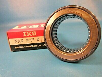 Iko Nax 5035z Combination Needle Roller And Thrust Ball Bearing Nippon Thomson