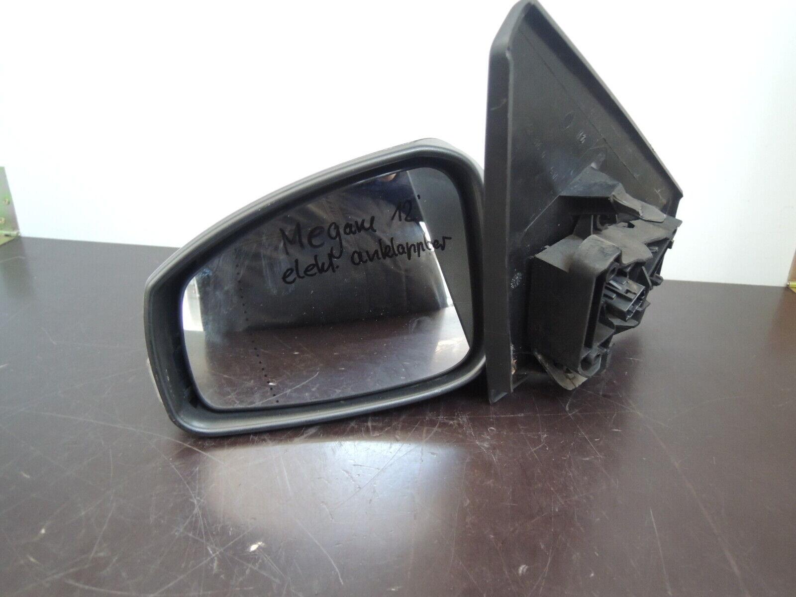 Abdeckung Gehäuse Außenspiegel CLIO II MEGANE I SCENIC I Links Schwarz