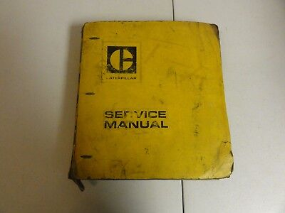 Caterpillar Cat 955 Track Type Loader Repair Service Manual