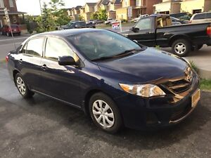 Toyota Corolla 2012 only 65000km