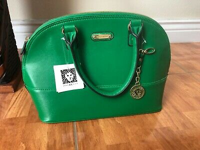 Anne Klein green handbag new