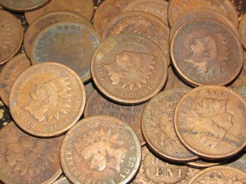 Random Indian Head Pennies - Free Shipping