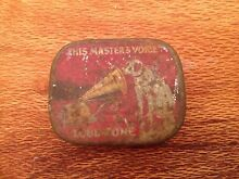Antique Tin gramophone needles Belmont Lake Macquarie Area Preview