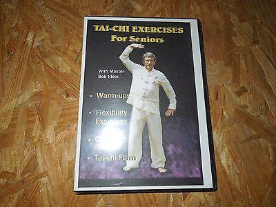 Tai-chi Exercises for Seniors with Master Bob Klein (DVD, 1998) ***BRAND NEW***