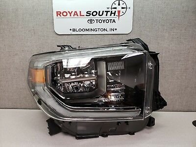 Toyota Tundra 2018 Off Road Package Right Front Headlight (LED) Genuine OEM (Headlamp Package)