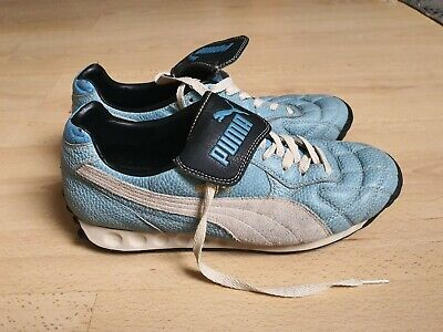 Puma Whirlwind Leather Trainers UK7 Classic Casuals Deadstock Vintage