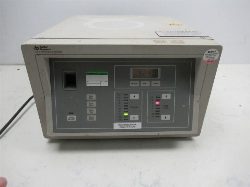 AB Applied Biosystems 759A Absorbance Detector Laboratory Lab Unit Benchtop