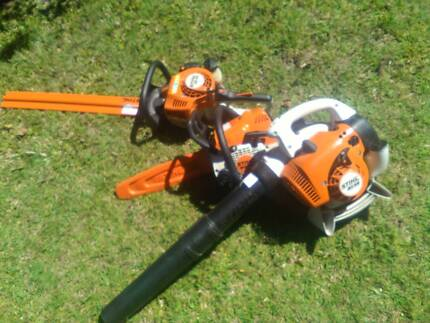 stihl power tools hardly used Brisbane Region Preview