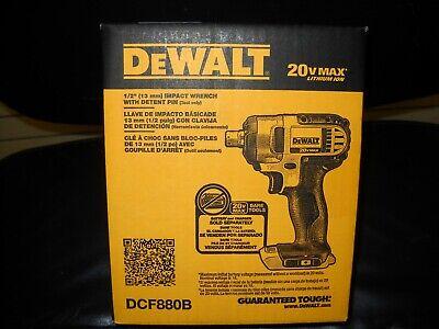Dewalt DCF880B 20V Cordless 1/2