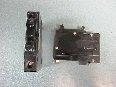 Square D Qot2020 2 1 Pole 20 Amp 120 Volt Circuit Breaker- Warranty