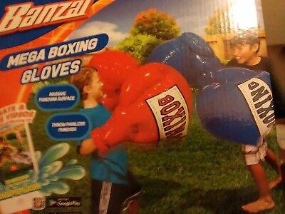 Banzai Mega Boxing Gloves Giant Kid Training Inflatable Mega Punching Fist Play