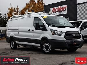2016 Ford Transit low roof 148, loaded. shelving and ladder rack