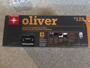 Oliver Tabeltop Charcoal BBQ Grill