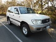 2002 Toyota LandCruiser SUV GAS /PETROL WARRANTY REG AND  RWC!! Moorabbin Kingston Area Preview