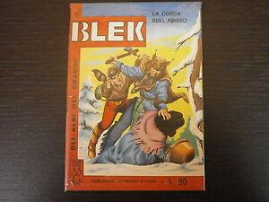 BLEK-LIBRETTO-n-99-ED-DARDO-ALBO-A-FUMETTI-ORIGINALE-1-EDIZIONE-NO-RISTAMPA