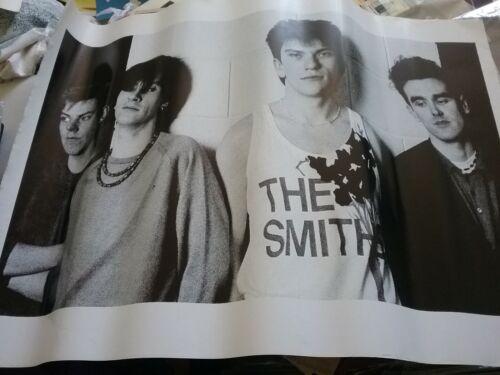 THE SMITHS 1980S UK 35 X 25 POSTER NMINT RARE CLEAN VTG HTF!