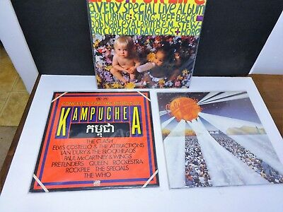 Used, *SANTANA/ HEART/ QUEEN/ PLANT/ WHO/ Live Music: Five (5) Vinyl Albums Authentic* for sale  Santa Cruz
