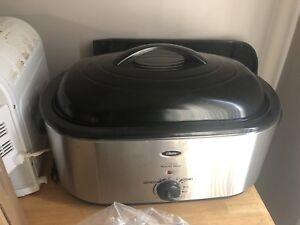 Oster 22qt self basting turkey roaster
