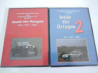 NEW Inside the Octagon 2 MG 1921-1945 & 1946-1980 - Roadside