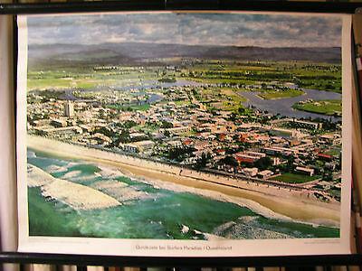 Schulwandbild Wandbild Goldküste Surfers Paradise Queensland Australien 72x52cm