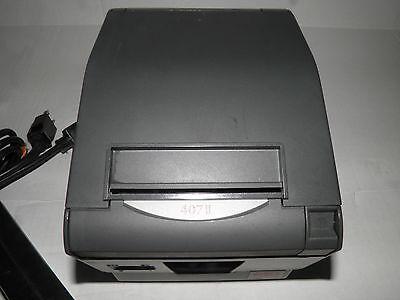 Oki Pos 407ii Thermal Pos Receipt Printer Parallel W Power Supply Star Tsp 700