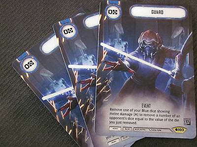 Star Wars Destiny FULL ART GUARD - Alternate Art Promo x1