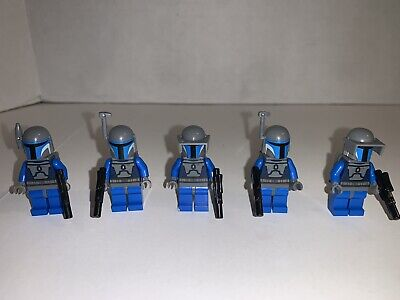 Lego Star Wars Mandalorian Minifigure Lot