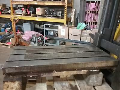 39 X 20 X 5 Steel Weld T-slot Table Cast Iron Layout 3 Slot Jig