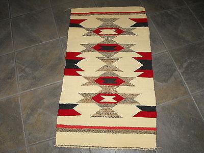 vintage Navajo Indian blanket saddle blanket? great condition great colors