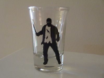 Jason Vorhees Friday the 13th Horror Shot Glass Alcohol - Alcoholic Halloween Shots