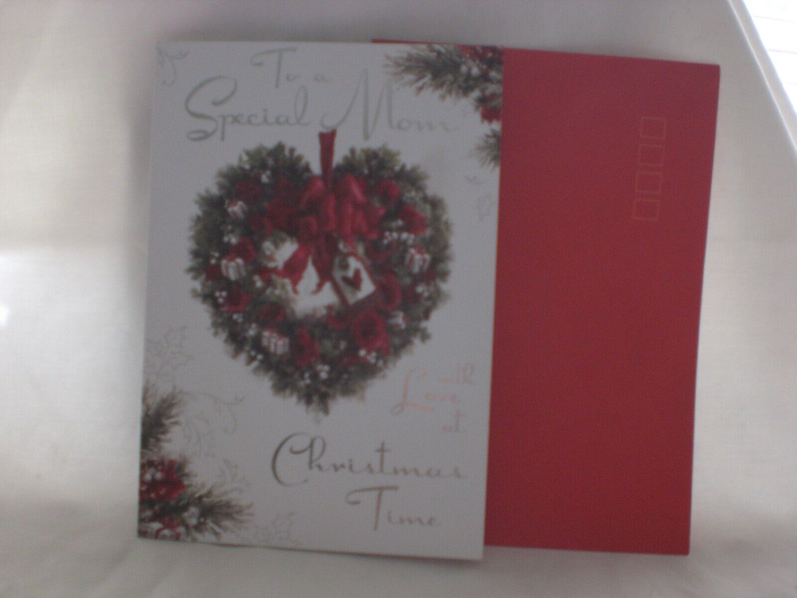 For Arts Sake - Christmas Card - To A Special Mom - $3.49