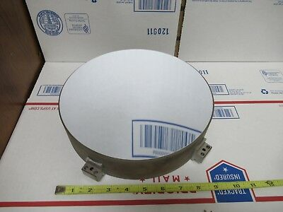 Huge Fused Silica Concave 6 Fl Optical Mirror Optics As Pictured Te-4-03