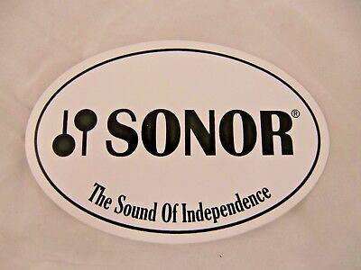 Sonor Drum Logo Decal//Sticker **Colour Choice**