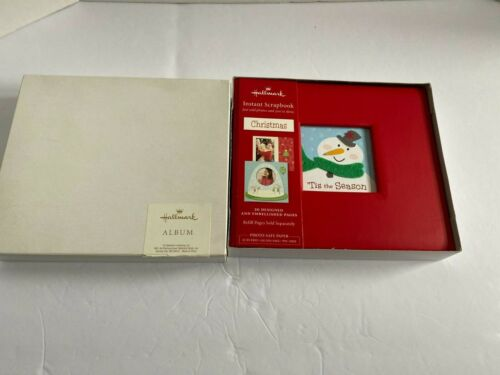 Hallmark Instant Scrapbook Christmas Album-