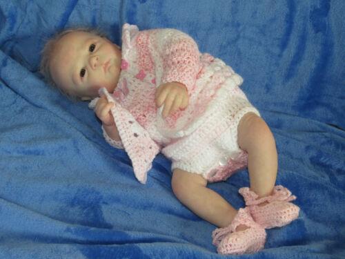 """Reborn Doll Realborn Pearl Awake, 18"""" 3 Lbs. 12 Oz. COA"""