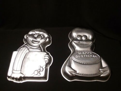 Earnie Wilton Cake Pan And Cookie Monster Wilton Cake Pan Lo