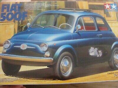 TAMIYA Modellbausatz 169 im Maßstab 1:24: FIAT 500F=RARITÄT!