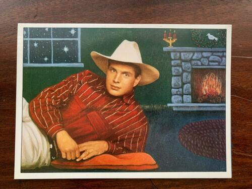 RARE GARTH BROOKS God Rest Ye Merry Gentleman CD single CHRISTMAS CARD PROMO