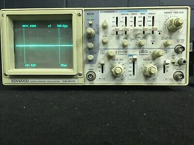 Kenwood Cs-8010 Digital Storage Oscilloscope 2-ch Tested For Power Mw