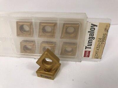 Tungaloy Ccmt432-24 Ccmt120408-24 New Carbide Inserts Grade T9025 8pcs