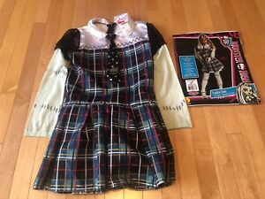 Frankie Stein Monster High Costume US Size 12-14 (Ages 8-10)