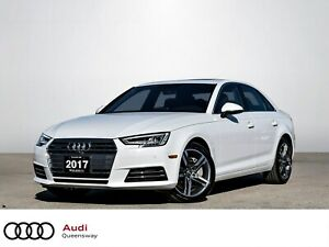 2017 Audi A4 2.0T Technik|1 Owner|No Accidents|Leather|Navi