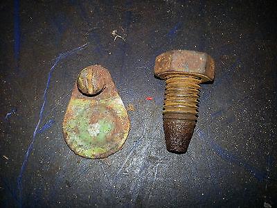 John Deere 420c Starter Jam Bolt Nut Flywheel Inspection Cover