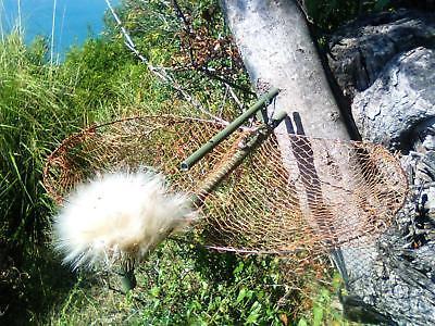 Trampa Pajaros Aves Anillamiento Jaula Piege Oiseaux Bird Live Net Trap 30cm...
