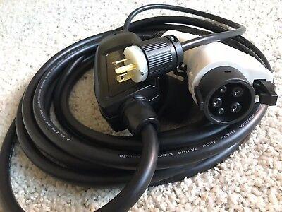 Level 2 charger, EVSE, EV, 16 Amp 110 - 240 v NEMA 6-20 plug EXTRA LONG 23