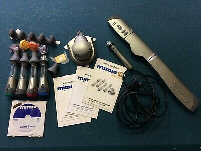 Mimio Xi Interactive Whiteboard Wireless Capture Kit Virtual Ink